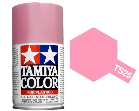Tamiya Pink Paint Spray TS-25