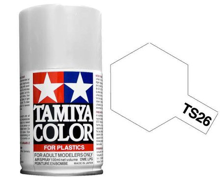 Tamiya Pure White Paint Spray TS-26