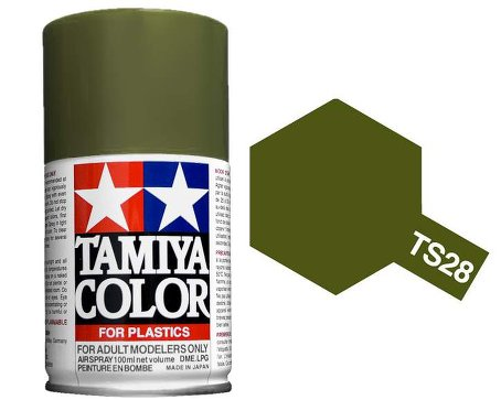 Tamiya Olive Drab 2 Paint Spray TS-28