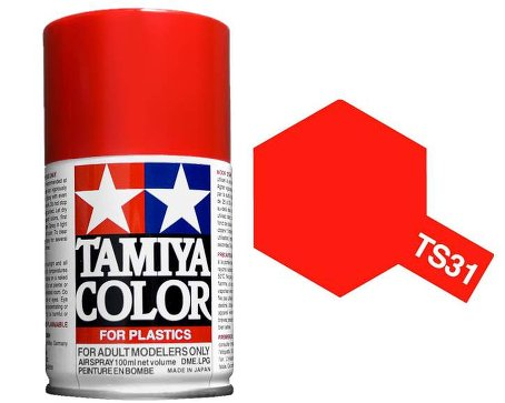 Tamiya Bright Orange Paint Spray TS-31