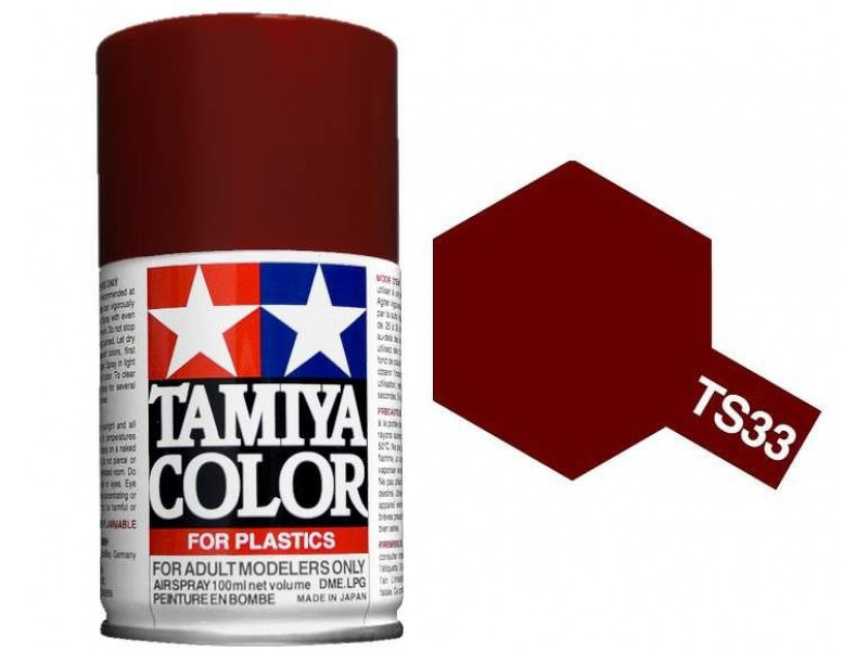 Tamiya Dull Red Paint Spray TS-33
