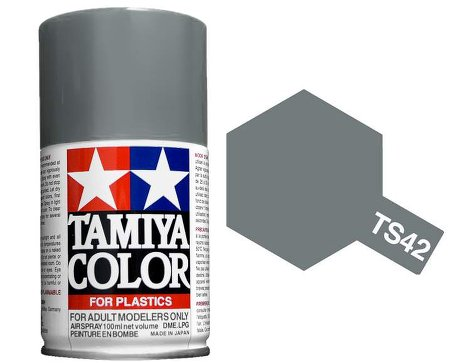 Tamiya Light Gun Metal Paint Spray TS-42