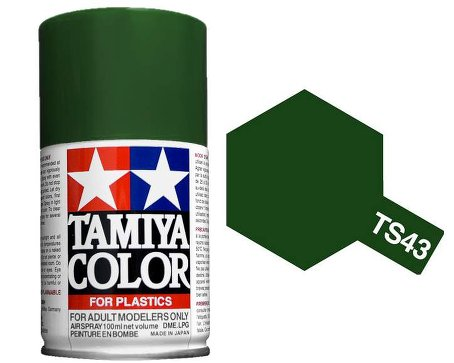 Tamiya Racing Green Paint Spray TS-43