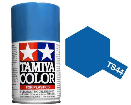 Tamiya Brilliant Blue Metal Paint Spray TS-44