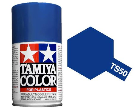 Tamiya Mica Blue Paint Spray TS-50