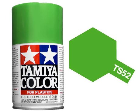 Tamiya Candy Lime Green Paint Spray TS-52