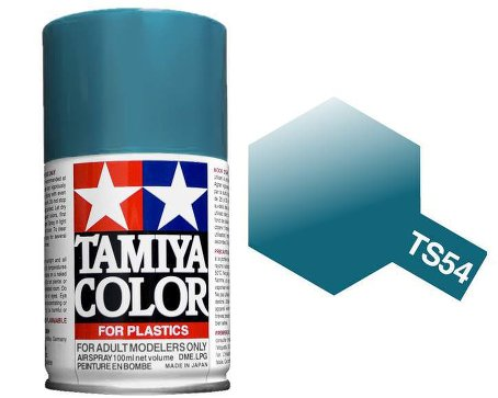 Tamiya Light Metallic Blue Paint Spray TS-54