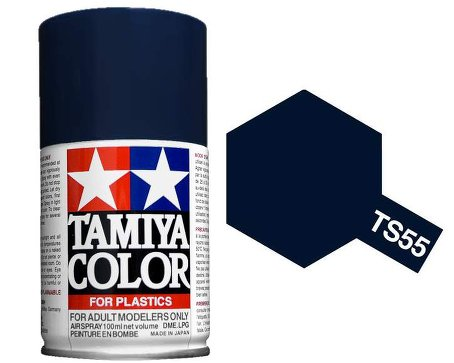Tamiya Dark Blue Paint Spray TS-55