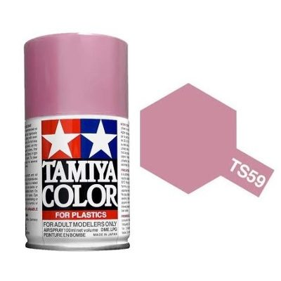 Tamiya Pearl Light Red Paint Spray TS-59