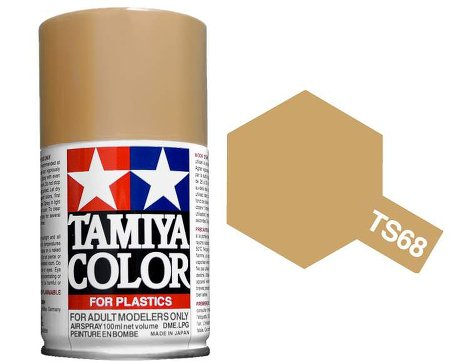 Tamiya Wooden Deck Tan Paint Spray TS-68