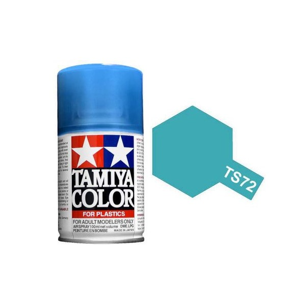 Tamiya Clear Blue Paint Spray TS-72