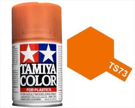 Tamiya Clear Orange Paint Spray TS-73