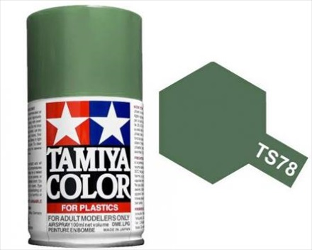 Tamiya Field Grey Paint Spray TS-78