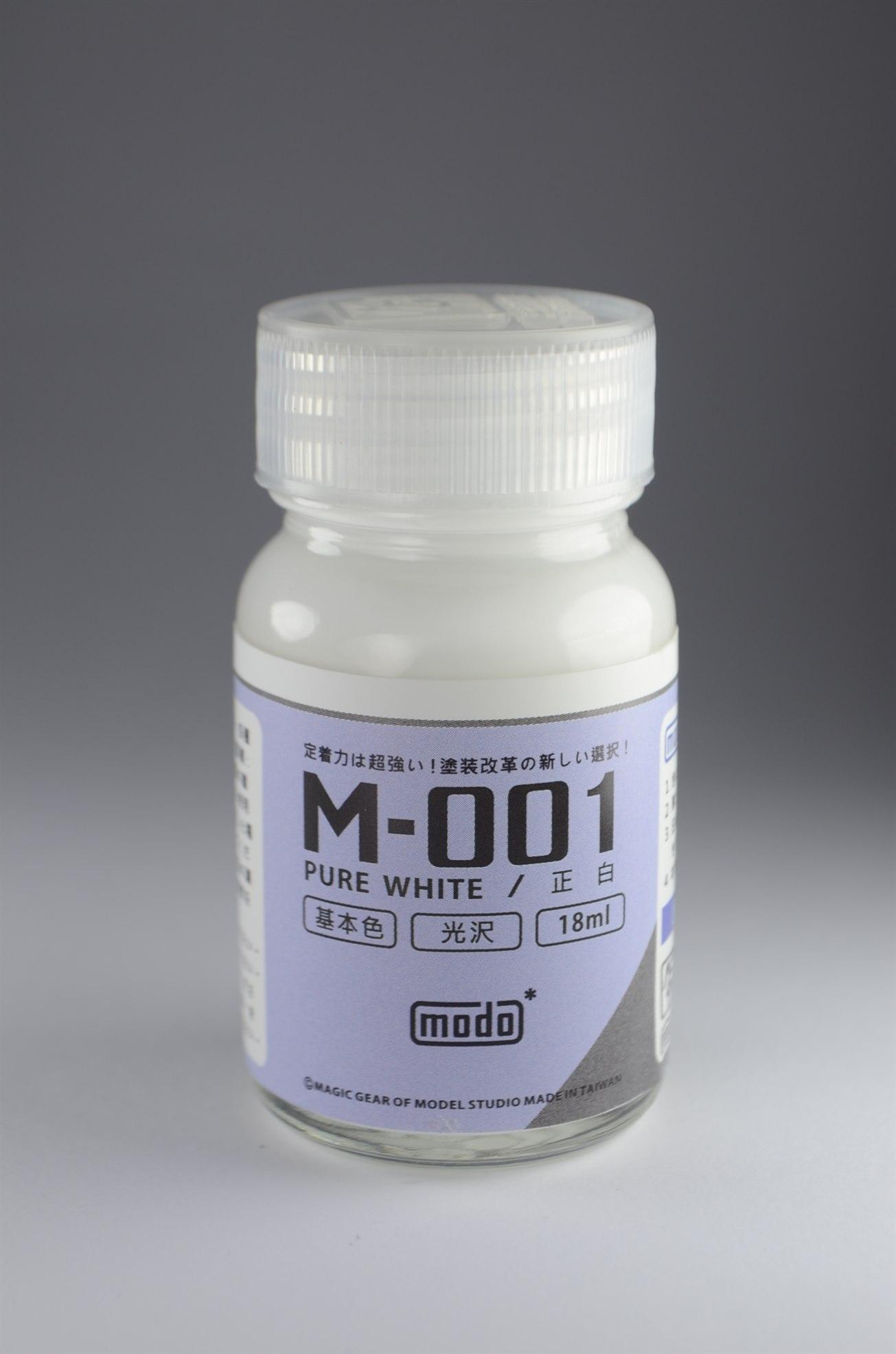MODO M-001 Gloss White 18ML