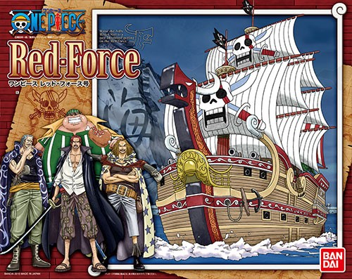 ONE PIECE Red Force (Plastic model)