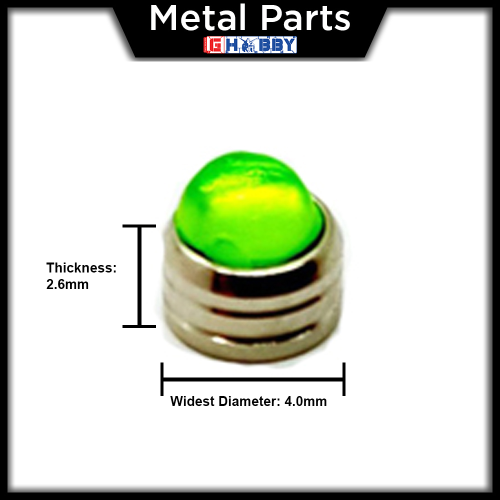 [Metal Part] Zaku metallic Lens - Green Colour