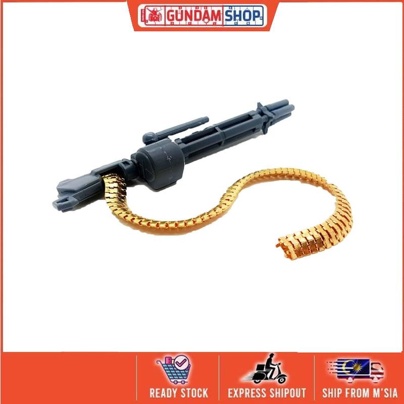 [Metal Part] Modelling Kits Gatling Gun Bullet Chain - Gold Colour