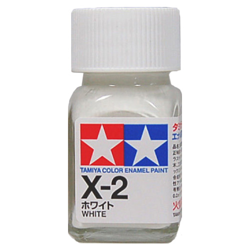 Tamiya Color Enamel Paint X-02 White (10ML)