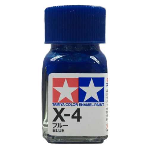 Tamiya Color Enamel Paint X-04 Blue (10ML)
