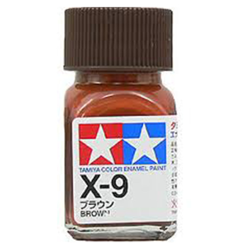 Tamiya Color Enamel Paint X-09 Brown (10ML)