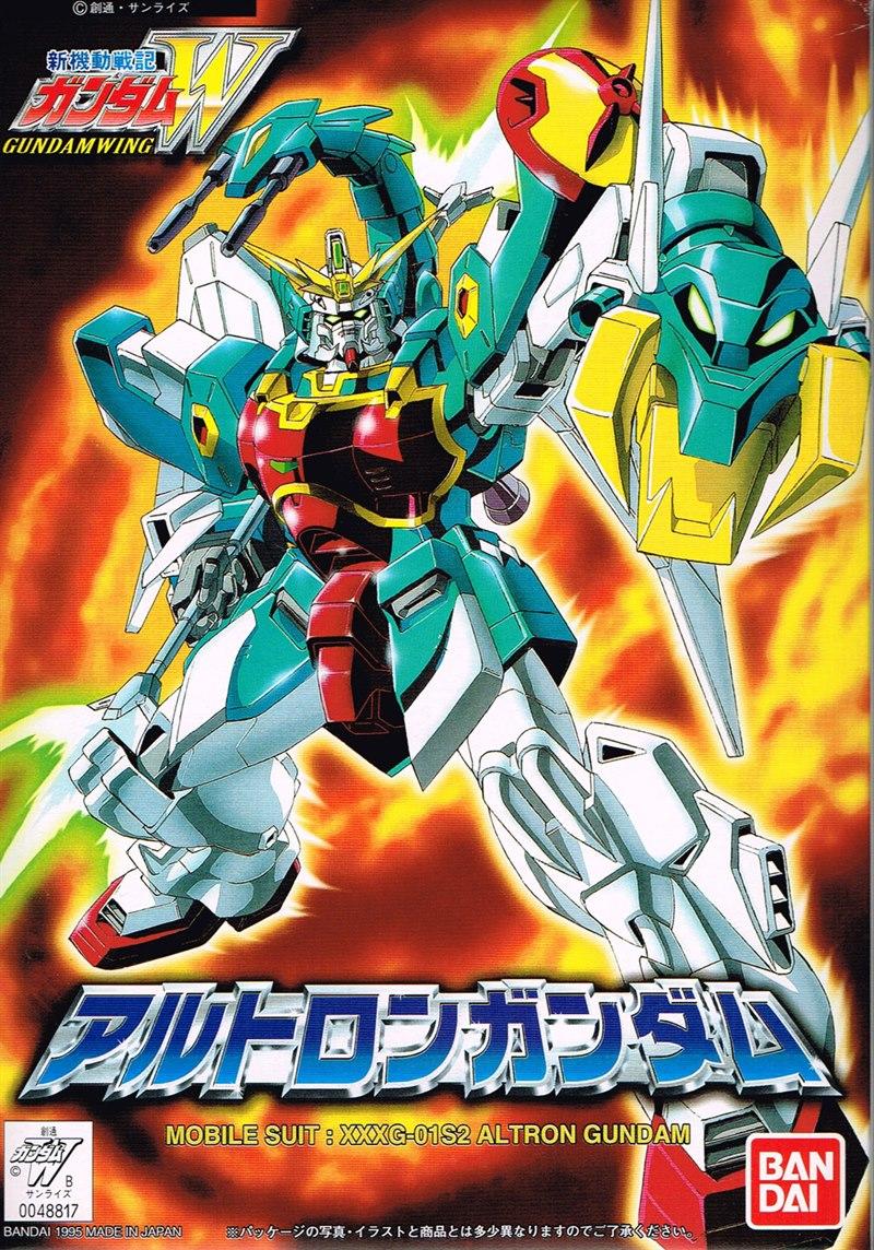 [11] XXXG-01S2 Altron Gundam (FG)