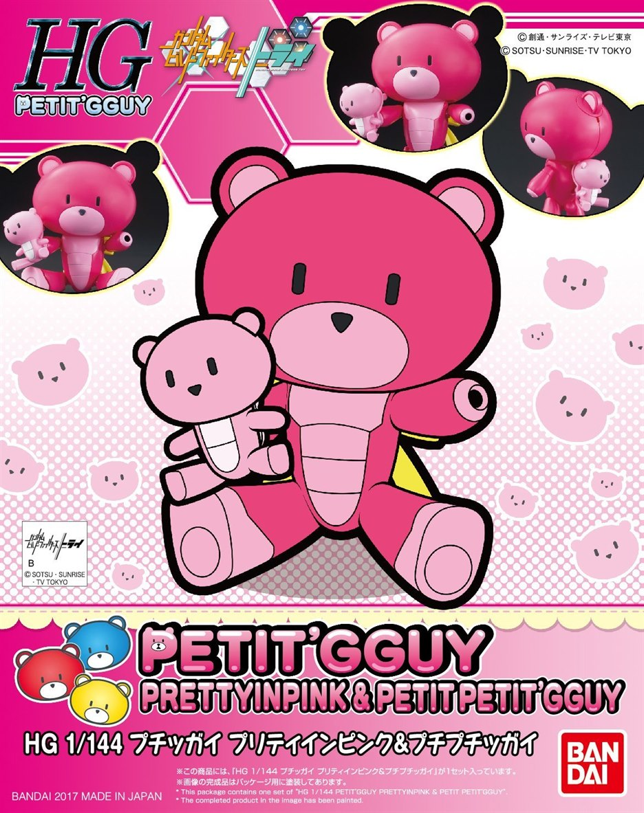 [14] HGPG 1/144 Petitgguy Pretty in Pink & Petitgguy