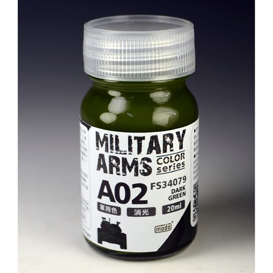 MODO A02 MILITARY ARMS COLOR SERIES DARK GREEN 20ML