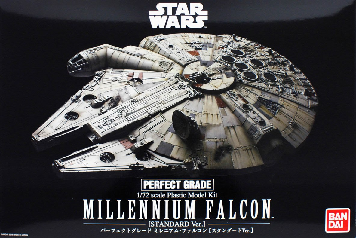 Star Wars Pg 1 72 Millennium Falcon Standard Ver A New Hope