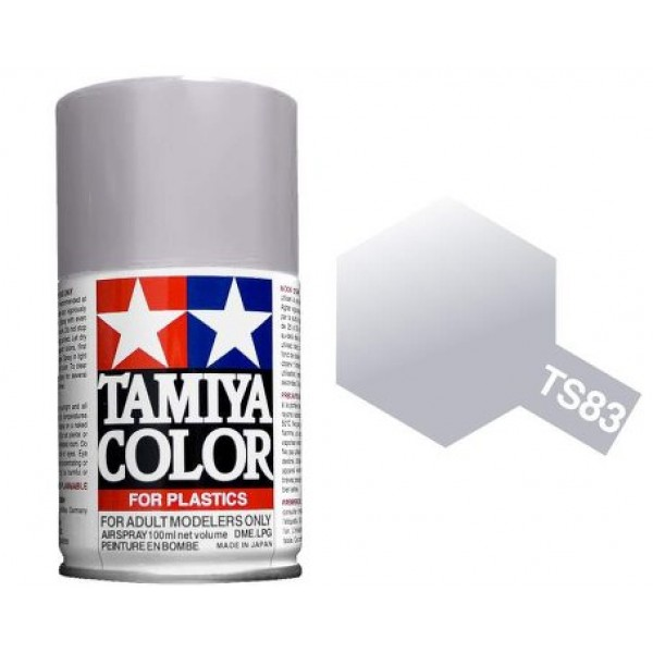 Tamiya Metallic Silver Paint Spray TS-83