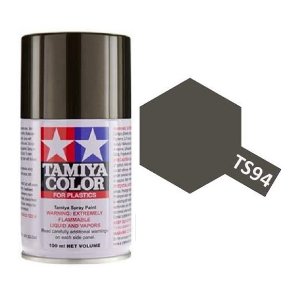Tamiya Metallic Gray Paint Spray TS-94