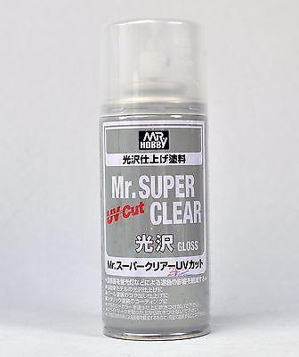 [B522] (MR HOBBY) Mr.SUPER CLEAR UV CUT GLOSS SPRAY (170ml)