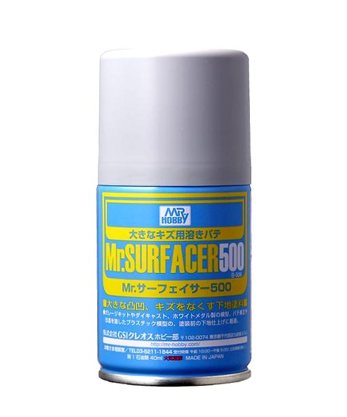 [B506] (MR HOBBY) MR. SURFACER 500 SPRAY (100ml)