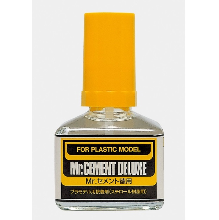 Mr Hobby Mr.Cement Deluxe for Plastic Model 40ml [MC127]