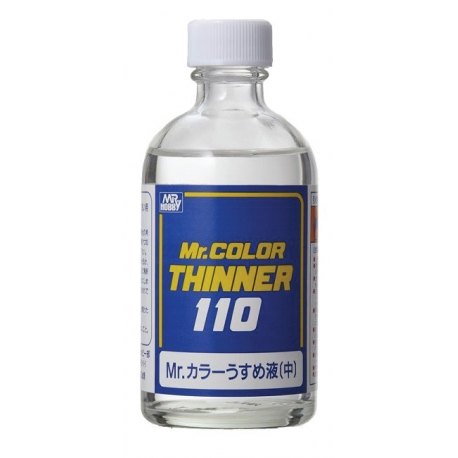 Mr Hobby Mr Color Thinner (110 ML) [Acrylic & Lacquer]