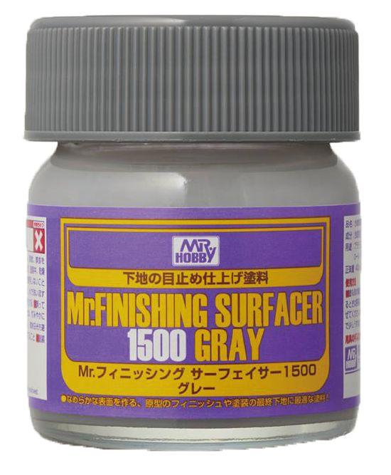 Mr Hobby - MR.FINISHING SURFACER 1500 (Grey) 40ml
