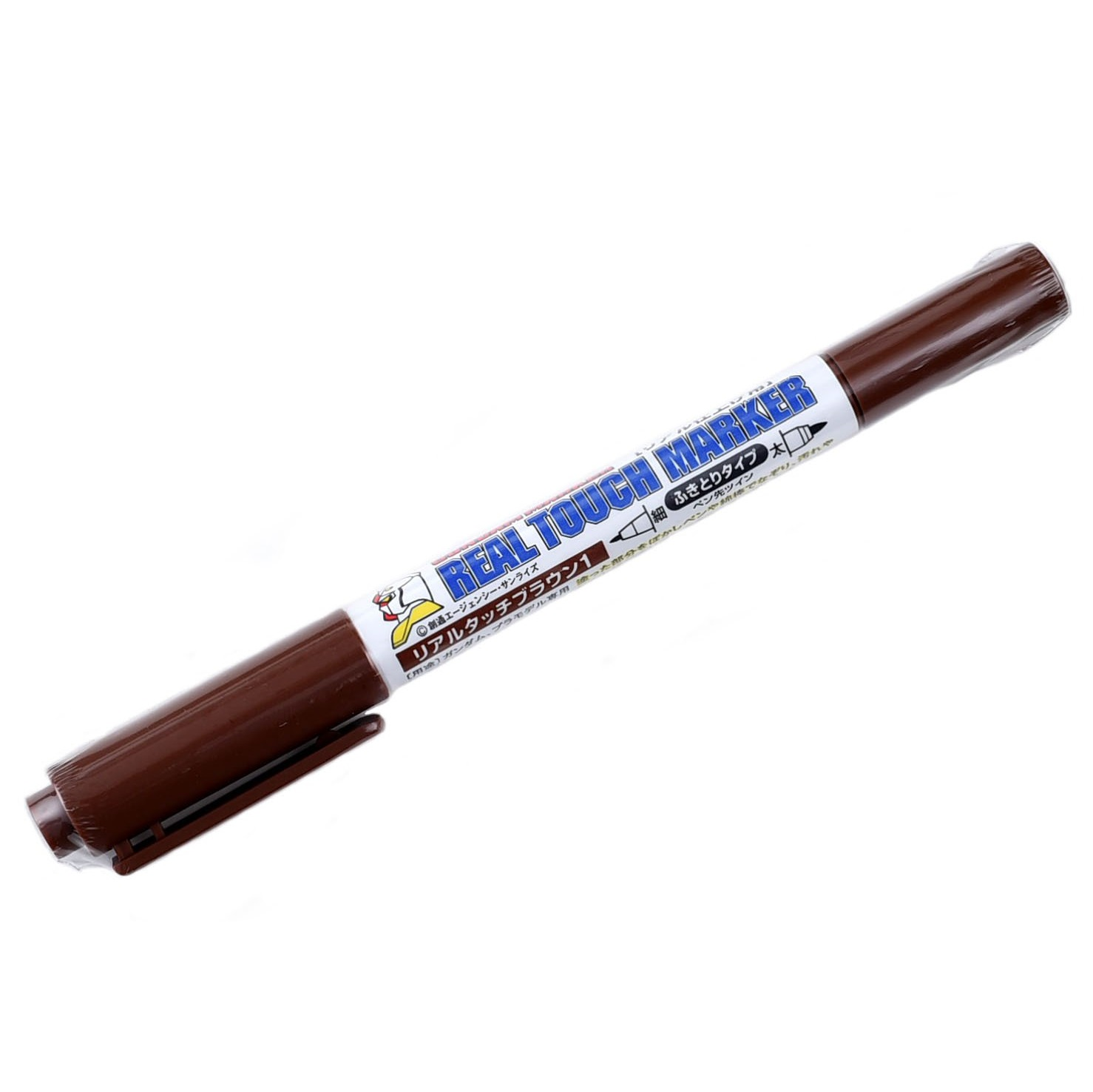 Gundam Marker - Twin Heads Real Touch GM407 (Brown)