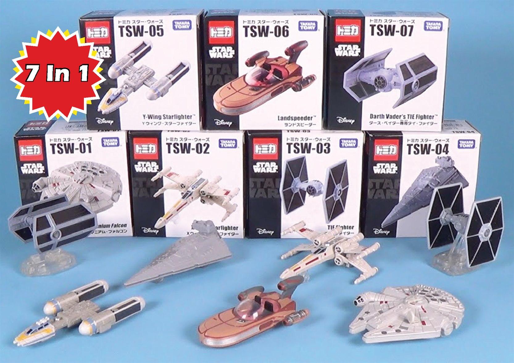 Tomica Star Wars Series TSW-01 Millennium Falcon by Takara Tomy Japan