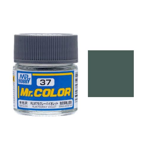 Mr. Hobby-Mr. Color-C037 RLM75 Gray Violet Semi-Gloss (10ml)