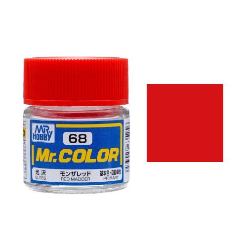 Mr. Hobby-Mr. Color-C068 Red Madder Gloss (10ml)