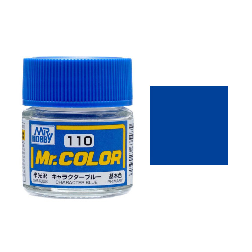 Mr. Hobby-Mr. Color-C110 Character Blue Semi-Gloss (10ml)