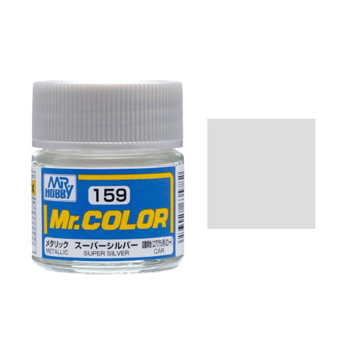 Mr. Hobby-Mr. Color-C159 Super Silver Metallic (10ml)
