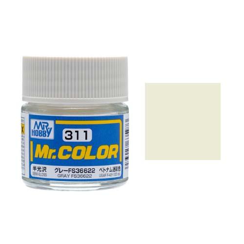 Mr. Hobby-Mr. Color-C311 Gray FS36622 Semi-Gloss (10ml)