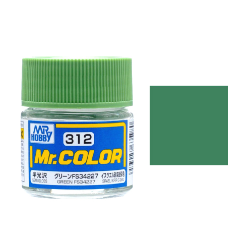 Mr. Hobby-Mr. Color-C312 Green FS34227 Semi-Gloss (10ml)