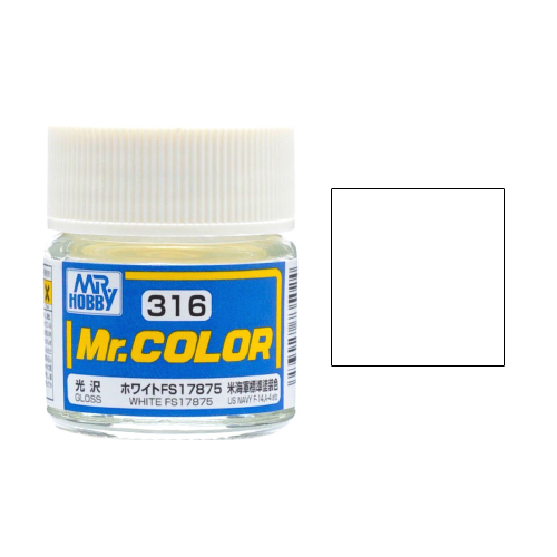 Mr. Hobby-Mr. Color-C316 White FS17875 Gloss (10ml)
