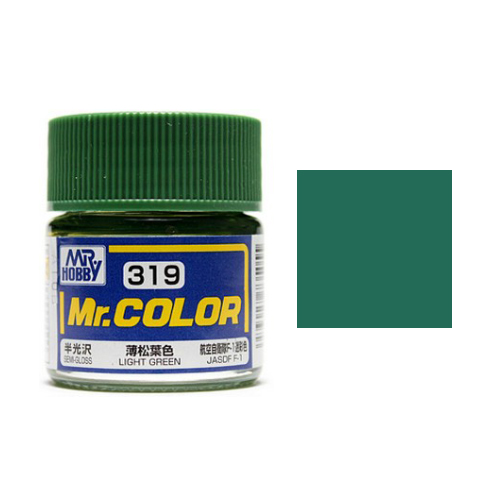 Mr. Hobby-Mr. Color-C319 light Green Semi-Gloss (10ml)