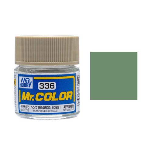 Mr. Hobby-Mr. Color-C336 Hemp BS4800/10B21 Semi-Gloss (10ml)