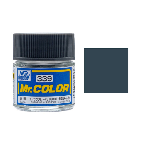 Mr. Hobby-Mr. Color-C339 Engine Gray FS16081 Gloss (10ml)