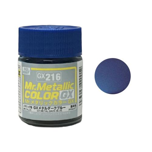 Mr. Hobby-Mr. Color-GX216 Metal Dark Blue (18ml)