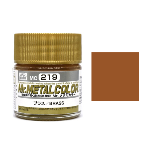 Mr. Hobby-Mr. Color-MC219 Brass (10ml)
