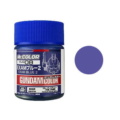 Mr. Hobby - Gundam Color - GUXUG08 Exam Blue 2 (For Blue Destiny Unit 1)